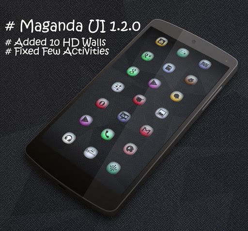 MAGANDA UI HD ICONS APEX NOVA