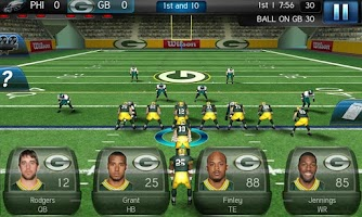 Screenshot of NFL Pro 2012