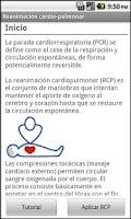 Screenshot of Reanimación Cardiorespiratoria