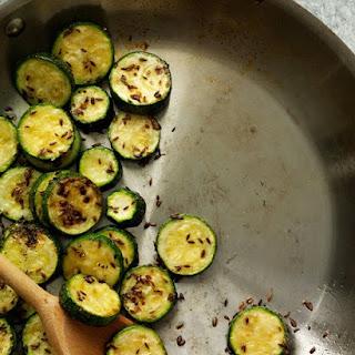Spiced Zucchini.