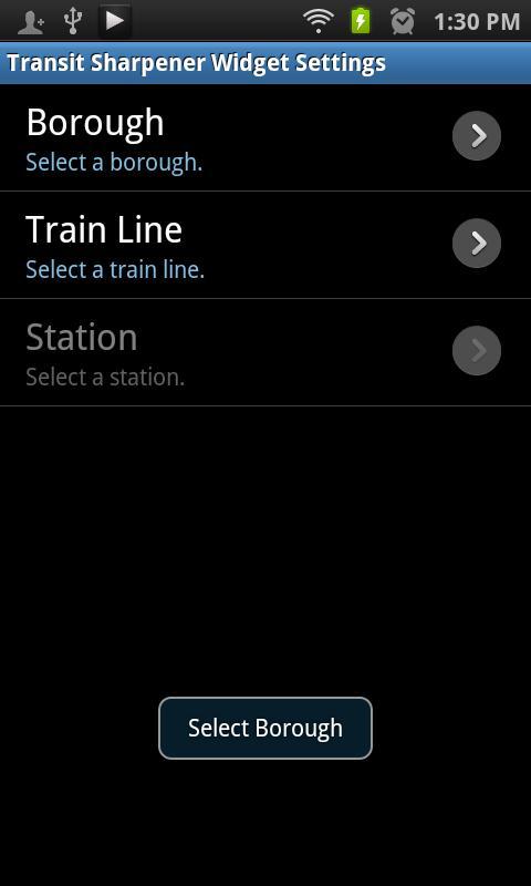 Transit Sharpener Widget NYC- screenshot