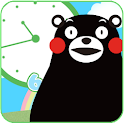 【Kumamon】 Clock Simple Ver.
