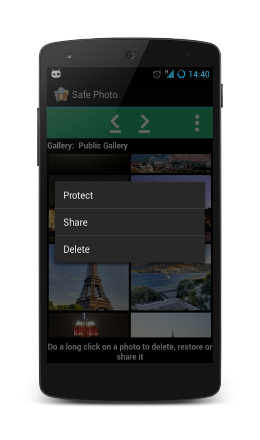 Safe Photo (Hide your photo) - screenshot