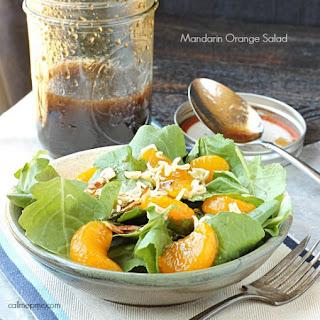Mandarin Orange Salad + Quick Meals