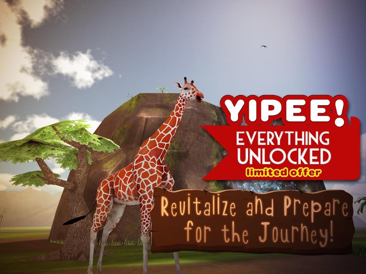 giraffe simulator 3d wildlife android apps on google play