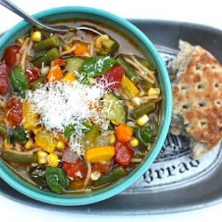Late-Summer Minestrone