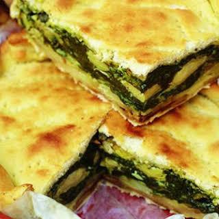 Italian Vegetable Pie.
