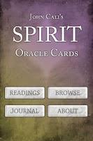 Screenshot of Spirit Oracle Cards