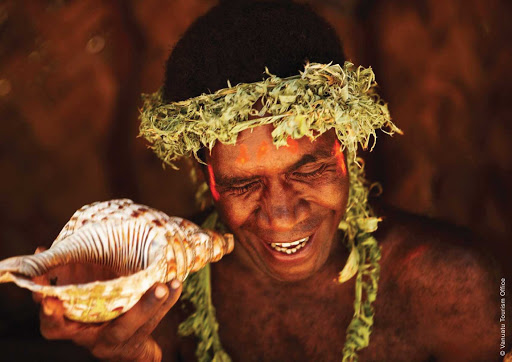 Silversea-Silver-Discoverer-Vanuatu - A villager in Vanuatu. Sail to Micronesia with Silver Discoverer and encounter new cultures and people.