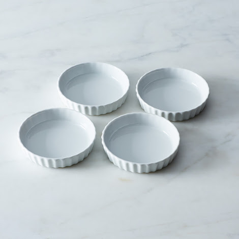Patisserie Round Flan Dish (Set of 4)