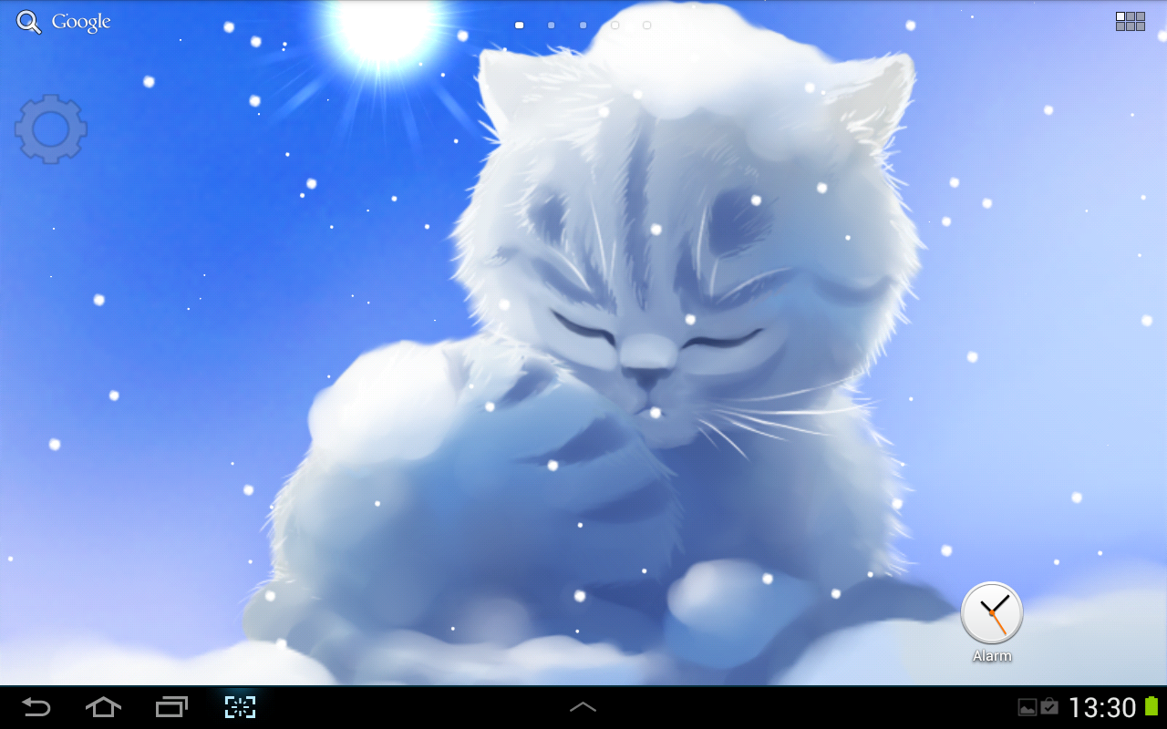 Snow Kitten Lite - screenshot