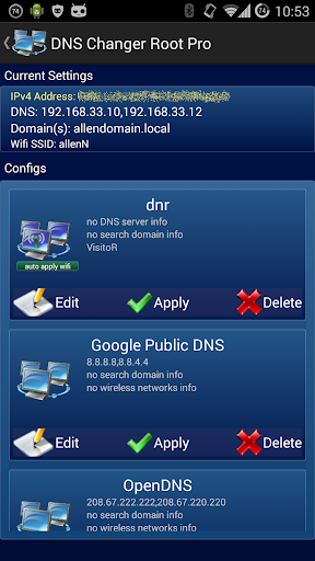 DNS Changer Root Pro