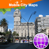 Montevideo Street Map