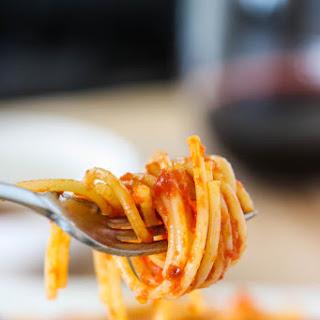 Spaghetti All'Arrabiata.