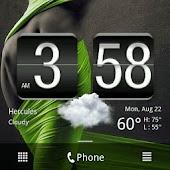 Flat Black HTC Sense 2.1 Skin