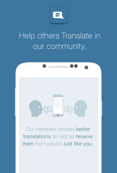 Translate - screenshot