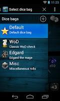 Screenshot of Quick Dice Roller