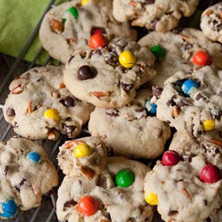 Jumbo Pretzel M&M Cookies