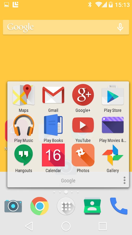 Lollipop Theme Icon Pack - screenshot
