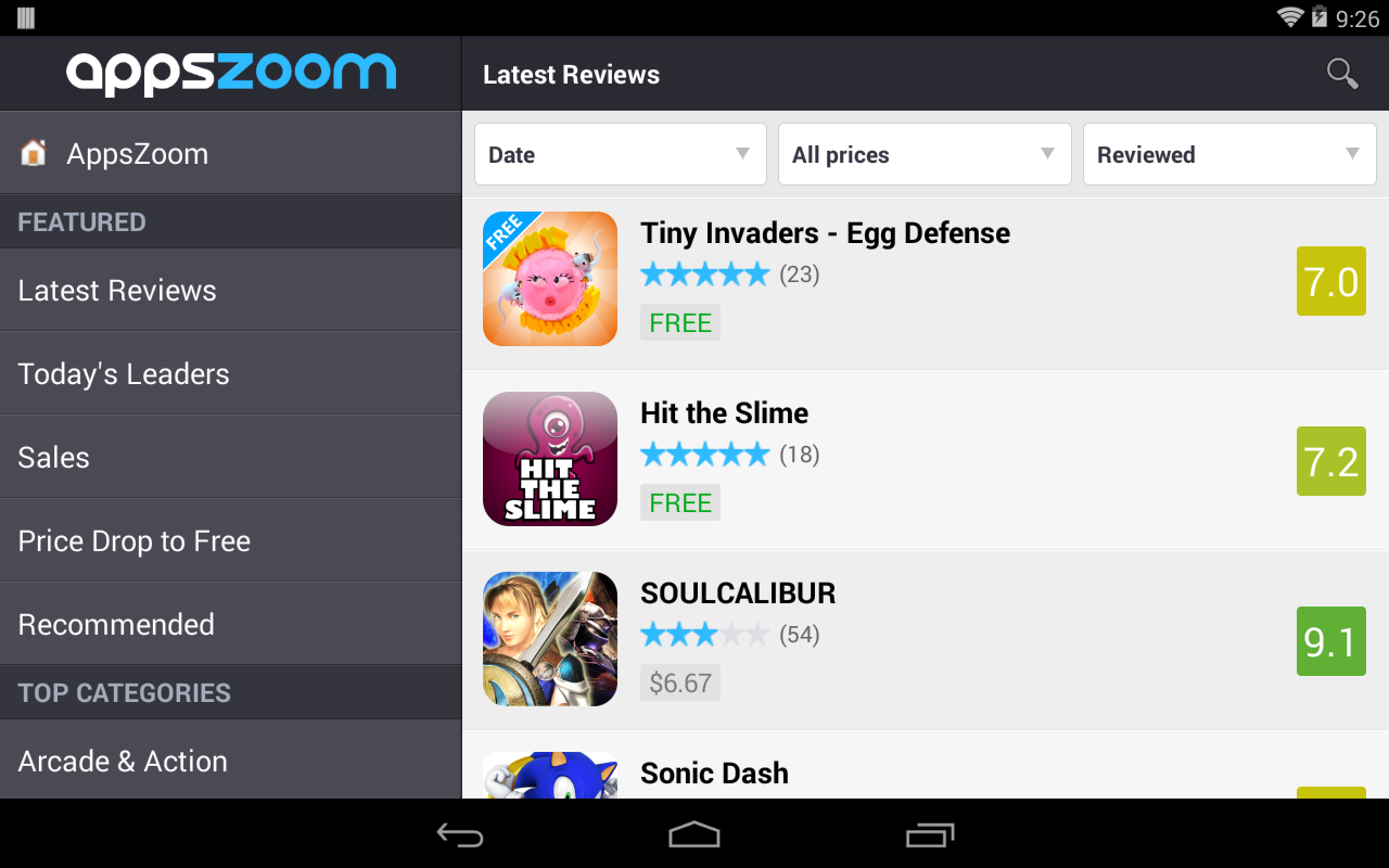 AppsZoom: Apps Discoverer - screenshot