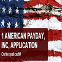 1 AMERICAN PAYDAY LOAN MOBILE icon