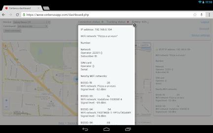 Cerberus anti theft Screenshot 7