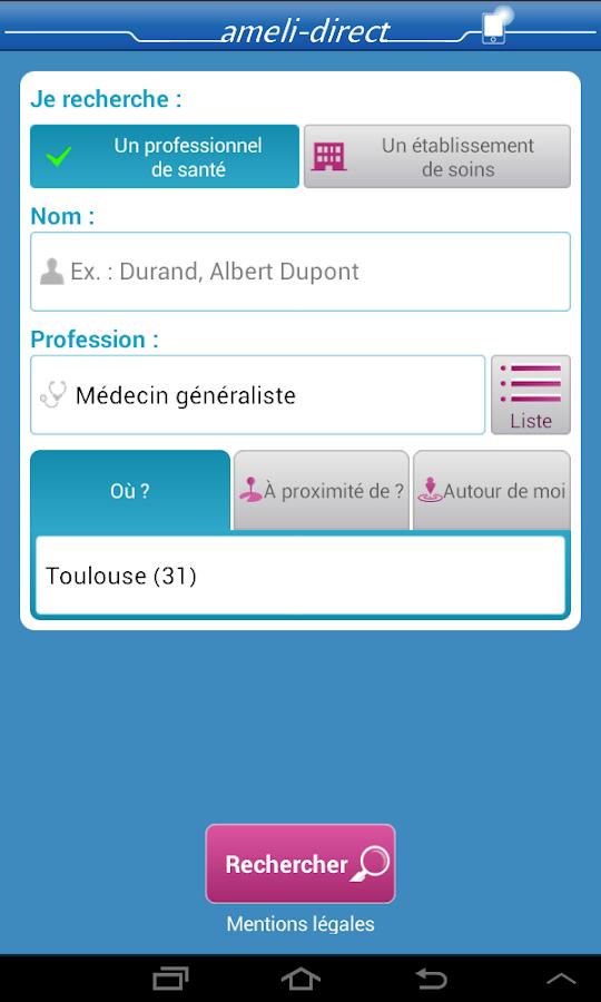 ameli, l'Assurance Maladie - screenshot