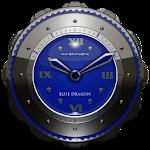 Dragon Clock Widget blue 2.70 (Paid)