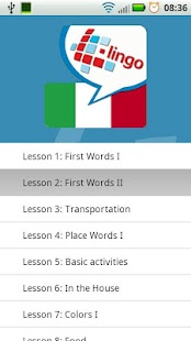 L-Lingo Learn Italian- screenshot thumbnail