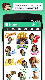 Bitmoji - Your Avatar Emoji - screenshot thumbnail