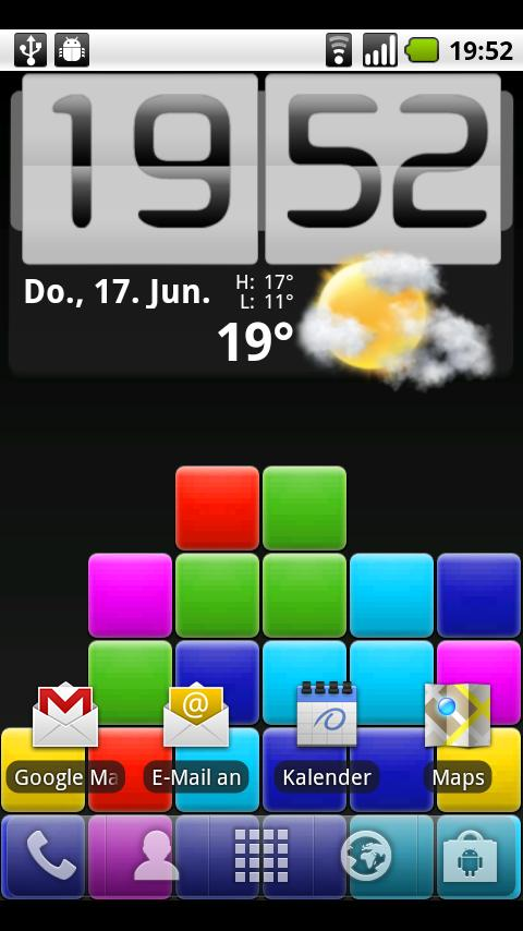 Puzzle Blox Live Wallpaper - screenshot