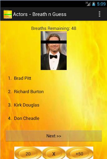 Actors - Breath n Guess