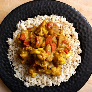 African Veg Curry.