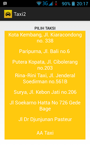 Taxi Bandung