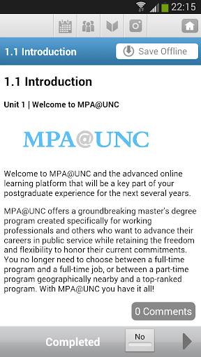 【免費教育App】MPA@UNC-APP點子