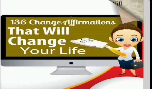 【免費書籍App】136 Change Affirmations-APP點子
