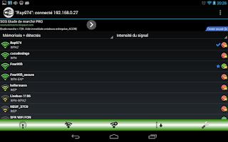Screenshot of Free WiFi Spot
