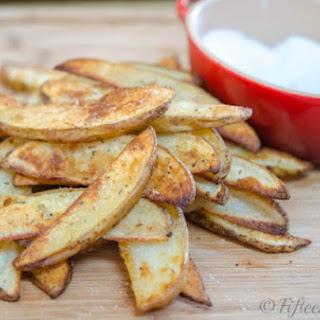 Thick-cut Garlic Herb Steak Fries.