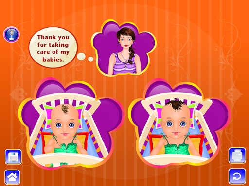 雙胞胎嬰兒護理遊戲|玩休閒App免費|玩APPs