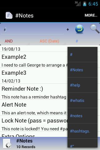【免費生產應用App】HashNotes-APP點子