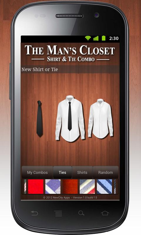The Man's Closet FREE- screenshot