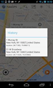 Fake GPS Go Location Spoofer Screenshot