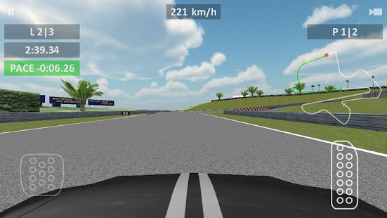 Race Track 3D preview- screenshot thumbnail