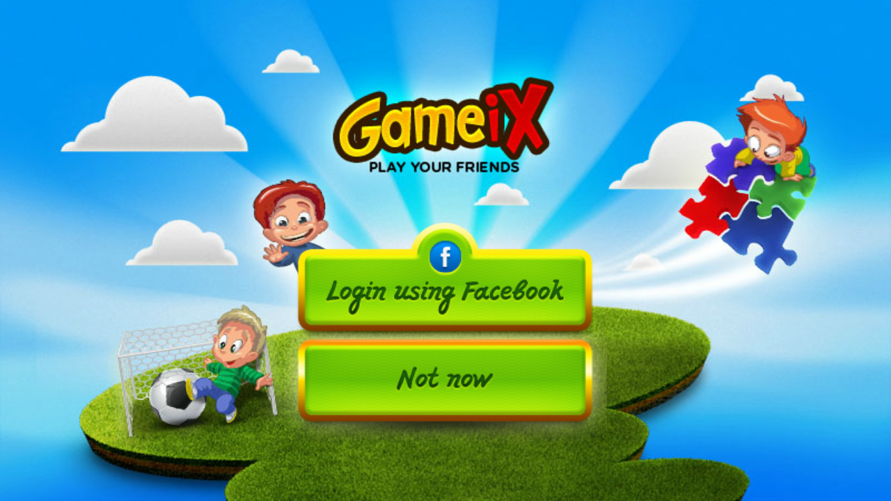 Gameix - Make your own games! - screenshot