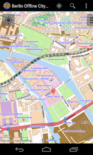 Berlin Offline City Map- screenshot thumbnail