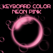 Keyboard Color Neon Pink