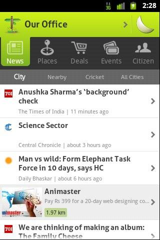 Localbeat for India - screenshot
