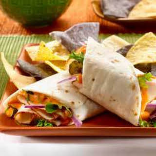 Easy Turkey Wraps.