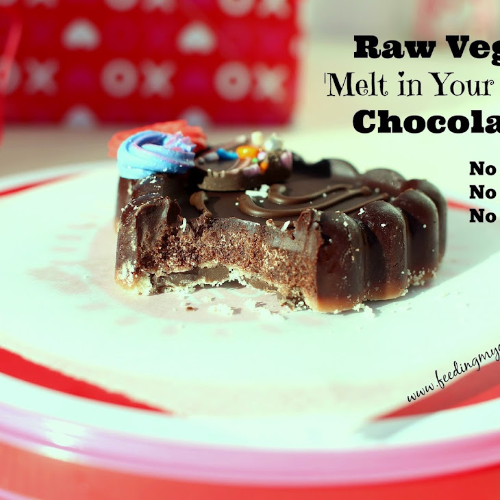 Raw Vegan 'Melt in Your Mouth' Chocolates