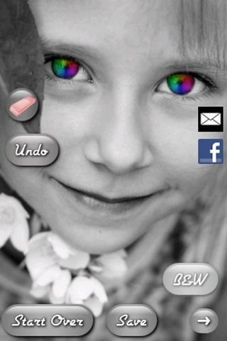 Eye Color Booth- screenshot